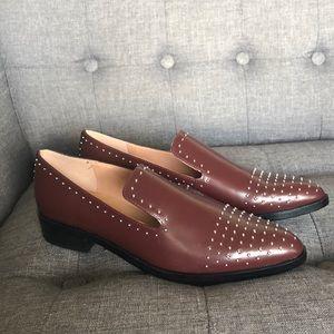 Sigerson Morrison Studded Flat Loafer